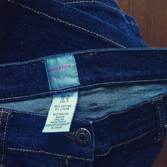 SASS & BIDE dark denim jeans, petite