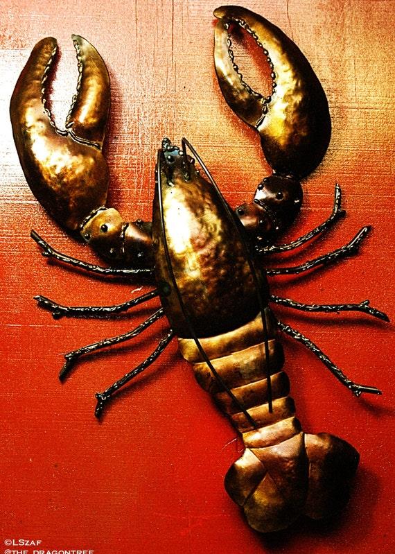 Maine Lobster,Indoor/Outdoor Wall Piece