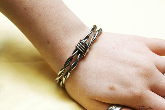 Hera, stainless steel fashion bracelet, made to order, you pick size