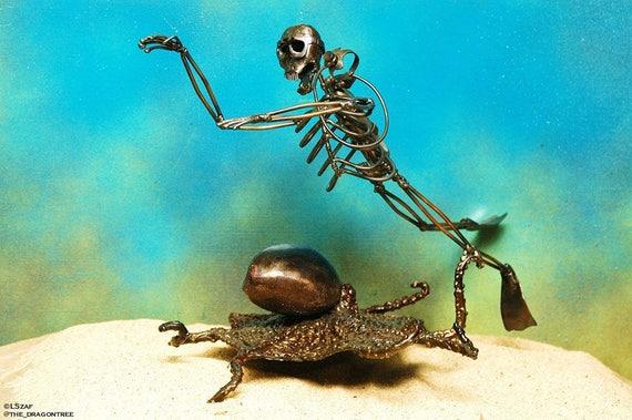 Exploration,Morgans Collection,Diver Metal Sculpture