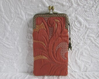 133A - iPhone 5-6-7-8 Case Fabric, iPod Touch Case, Cell Phone Case, Samsung Galaxy Case, cover handmade