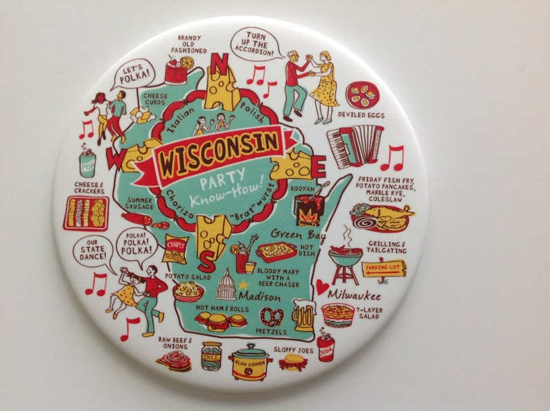 Wisconsin Party Know-How Magnet image 0