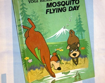 Yogi Bear Mosquito Flying Day, 1976 Wonder Book