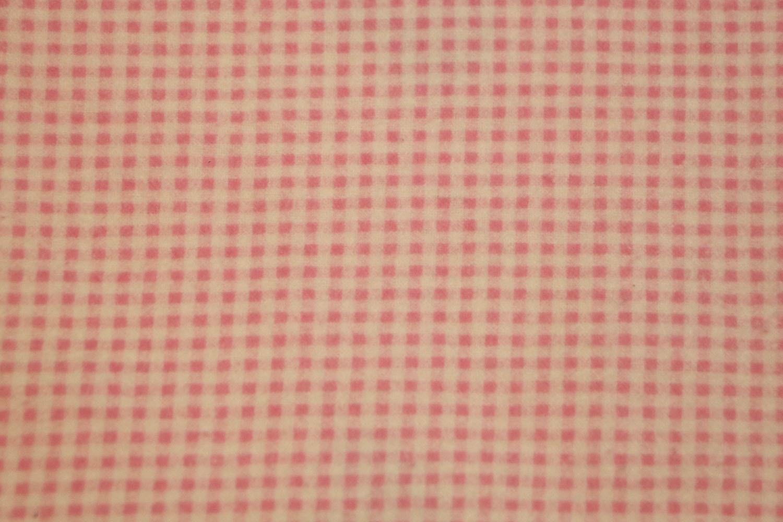 Ensemble cadeau pour bébé au Crochet doudou flanelle tranchant w/2 chiffons Burp, il suffit de canards rose Vichy de la coordination de tissu à l'envers