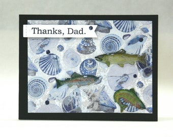 Happy Father's day thanks Dad you taught me how to be brave help me spread my wings and fly fishing, seashore seashells Beach rainbow trout