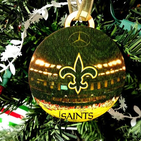 New Orleans Saints Christmas Ornaments.New Orleans Saints Christmas Ornament Gift Tag
