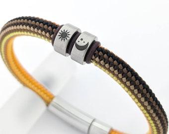 Sun moon bracelet men, stocking fillers, teenage boy gift, teenager birthday gift, best friend bracelet, friendship bracelet, gifts for kids