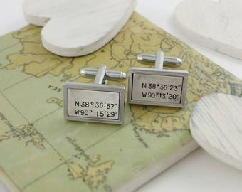 Cufflinks, cuff links, cufflinks for men, men cufflinks, custom cufflinks, wedding cufflinks, groom cufflinks, engraved cufflinks