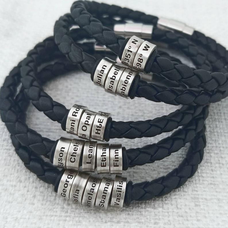 Mens bracelet Mens Gift for men Mens gift Boyfriend gift image 0