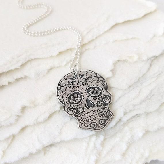 Skull Necklace Sugar Girlfriend Gift