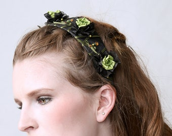 Couture Headband 'POISON GREEN""