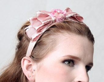 CHEEKY - Fascinator Headband, Diadem, Lolita style, Big Bow Diadem