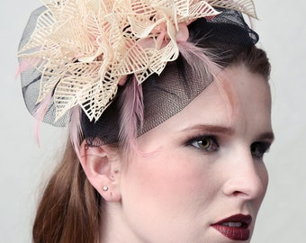 Couture Headpiece 'MADEMOISELLE' - OOAK