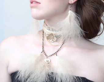 Couture Jewellery set 'AIR'