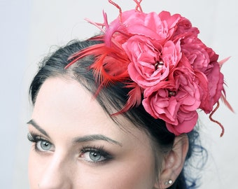 Paeonia - Fascinator