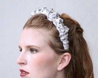 Starlight - Couture headband, tiara for wedding, gala or prom