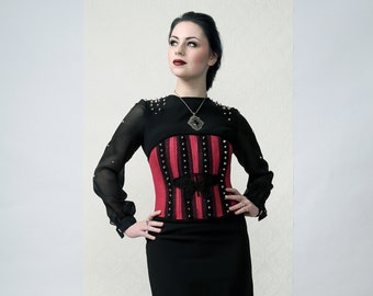 BUTTERFLY - 2piece LBD dress and under-bust corset