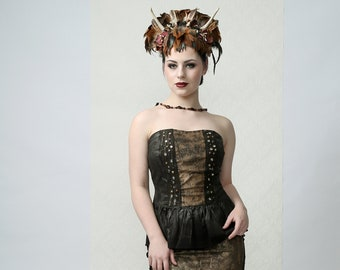 Warrior - Couture Bustier Top