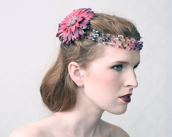 FIONA - Hair Jewel for wedding. gala, stage performance or costumed events like Burning Man or Elfia