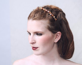 SUNSHINE - Tiara, Diadem, crown, hair jewellry