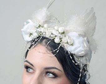Headpiece 'ANGELS DELIGHT'