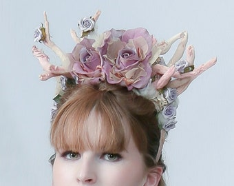 "Couture headdress ""SLEEPING BEAUTY"""