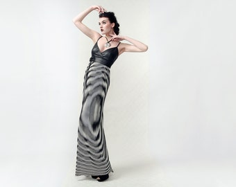 TREE - Couture dress from pleated chiffon