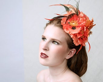 Couture Fascinator Hat 'CRAZY'