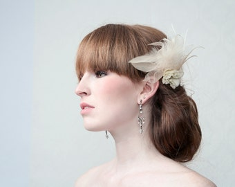 Couture Fascinator set 'PEARL'