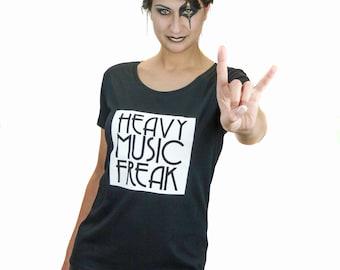 T-shirt Heavy Music Freak - Size  L