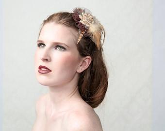 DOTTY - Brooch Multi-Clip, Hair corsage, hair jewel, hair accessory, clip-on brooch
