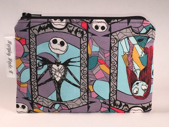 Nightmare Before Christmas Fabric Coin Purse Coin Pouch