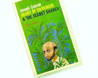Vintage Joseph Conrad Paperback / Illustrated Cover / Collectible Novel / Vintage Classic Literature