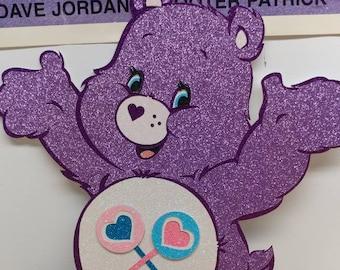 Share bear, share care bear, lollipop bear