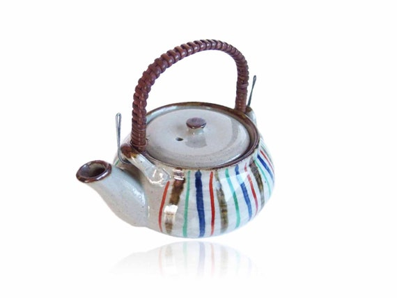 vintage tea kettle ceramic tea kettle