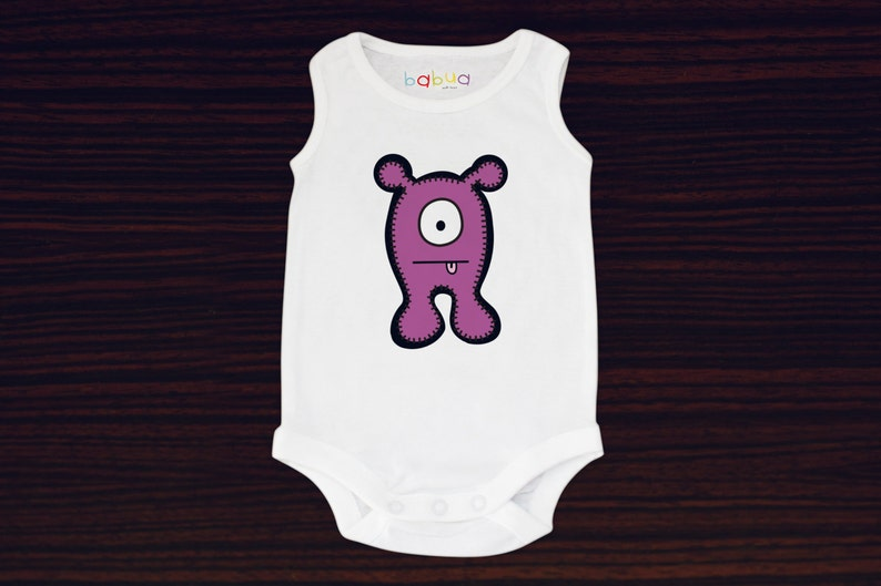 Babua Baby Romper/Jumpsuit  'Anthony' Purple image 0