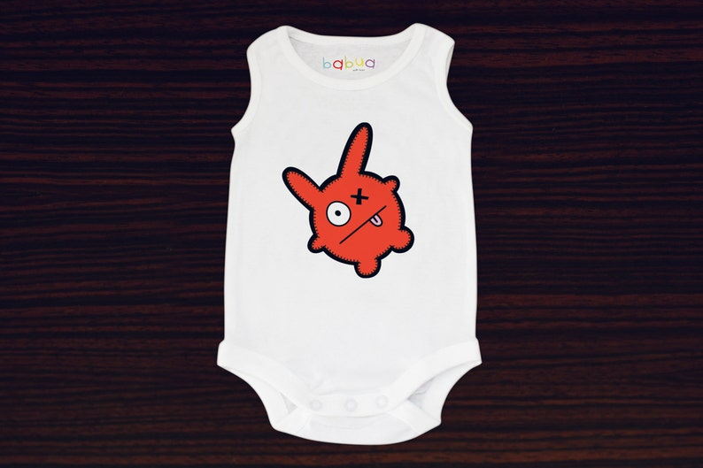 Babua Baby Romper/Jumpsuit  'George' Red image 0