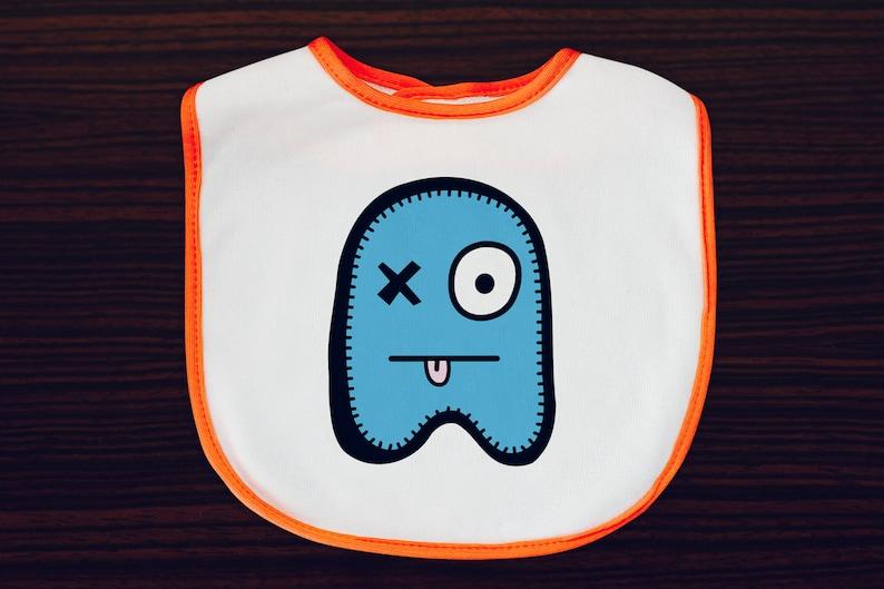Babua Baby Bib  'Patrick' Blue image 0