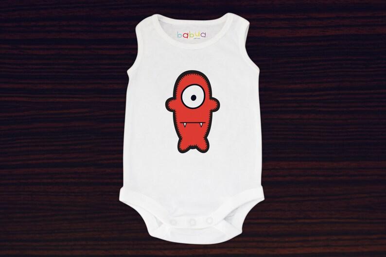 Babua Baby Romper/Jumpsuit  'Bob' Orange image 0