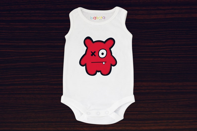 Babua Baby Romper/Jumpsuit  'Peter' Red image 0