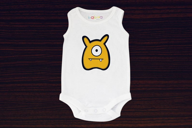 Babua Baby Romper/Jumpsuit  'Jack' Yellow image 0