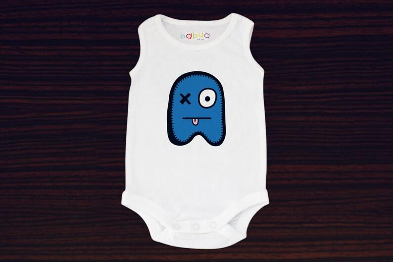 Babua Baby Romper/Jumpsuit  'Patrick' Blue image 0