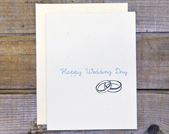 C-0602 Happy Wedding Day Card