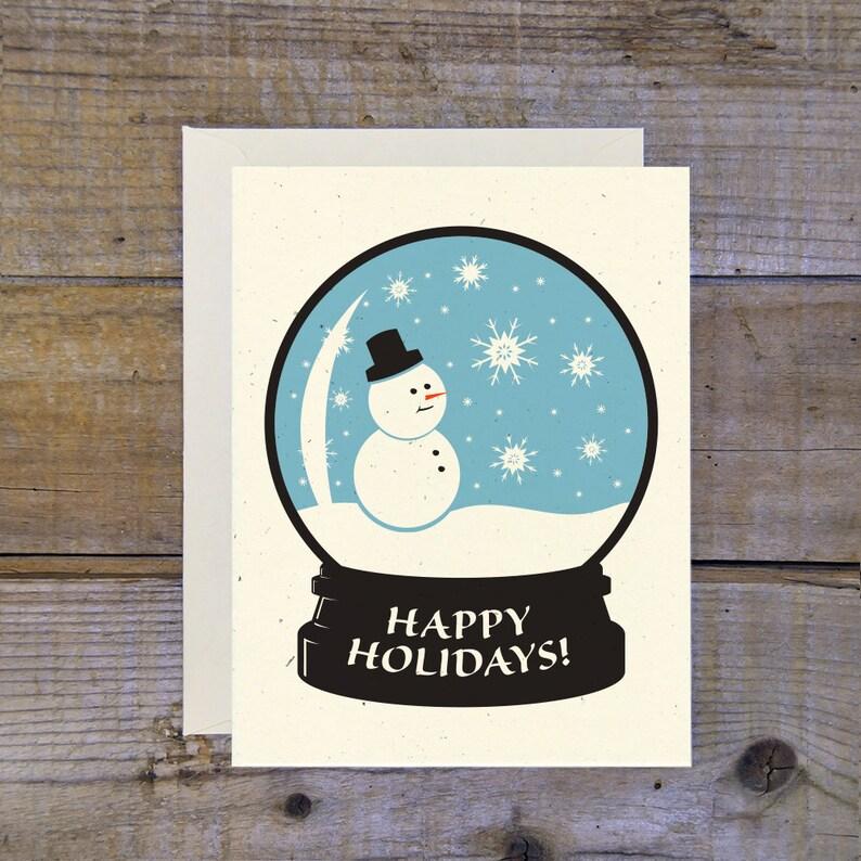 TCPC-0111 Snow Globe Snowman