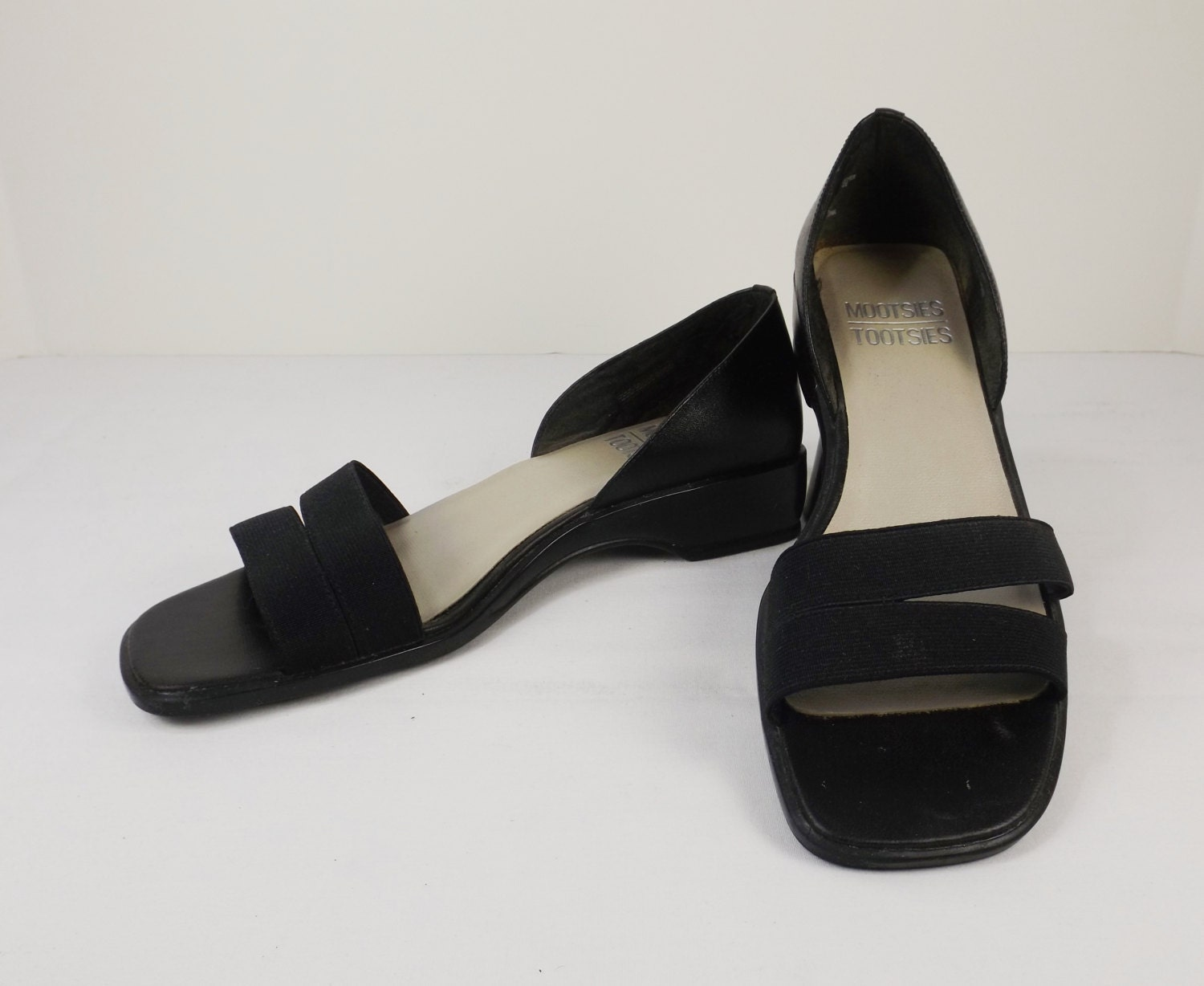 14a00322ec3bd MOOTSIES TOOTSIES Black Sandals Size 7-1 2M 7.5M