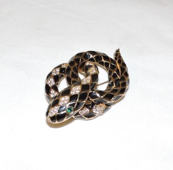 CINER Snake Brooch