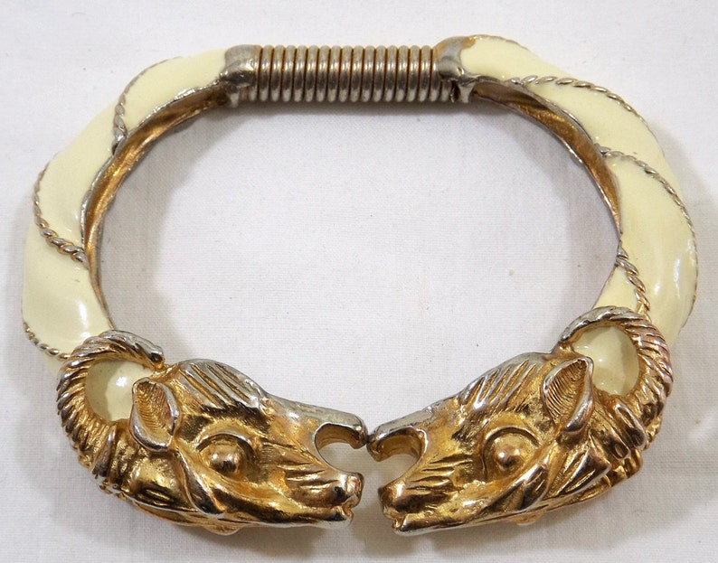 DONALD STANNARD Ram/'s Head Clamper Bracelet