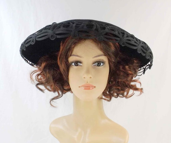 STETSON 5th Ave. NY Audrey Hepburn Cartwheel Hat C
