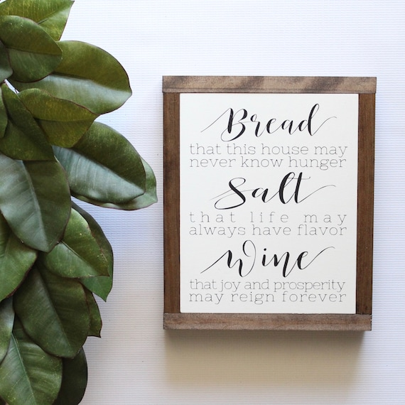 50 Of The Best Housewarming Gifts: 50+ Great Quote From Its A Wonderful Life Salt Wine Bread