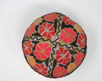 Embroidered Prayer Cap Ethnic Tribal Hat